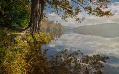 October Morning at Price Lake